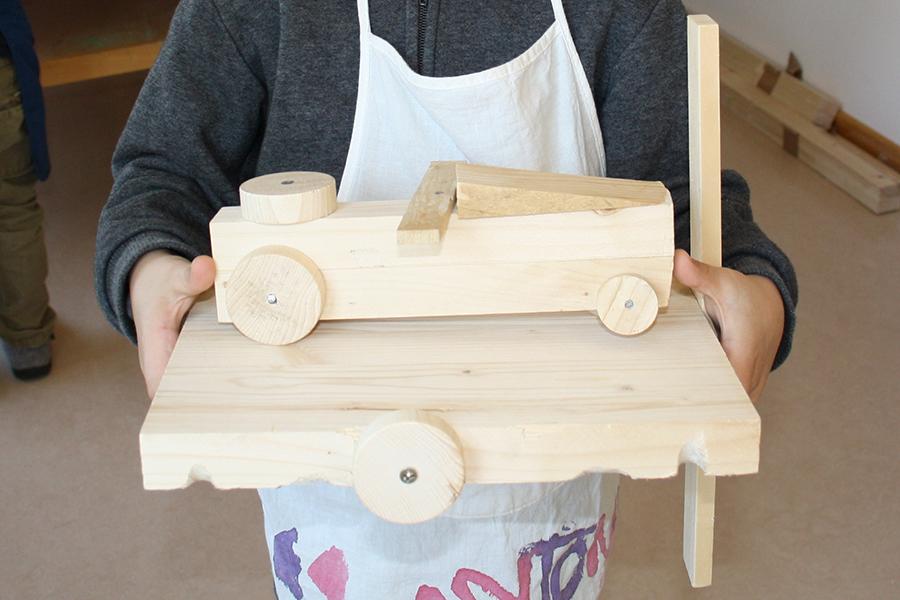Kreatives Arbeiten Mit Holz Evangelischer Integrationskindergarten